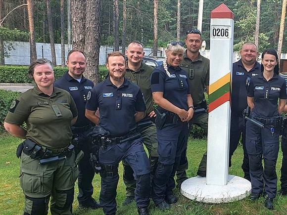 В Литве пограничники начали разворачивать нелегальных мигрантов, прибывающих через границу с Белоруссией