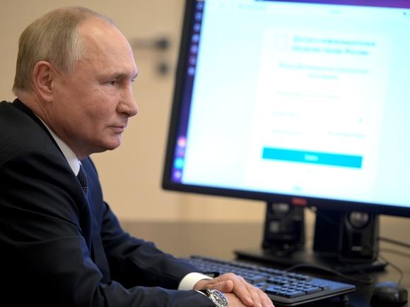 «Был использован телефон одного из помощников»: Песков пояснил, как Путин смог проголосовать онлайн