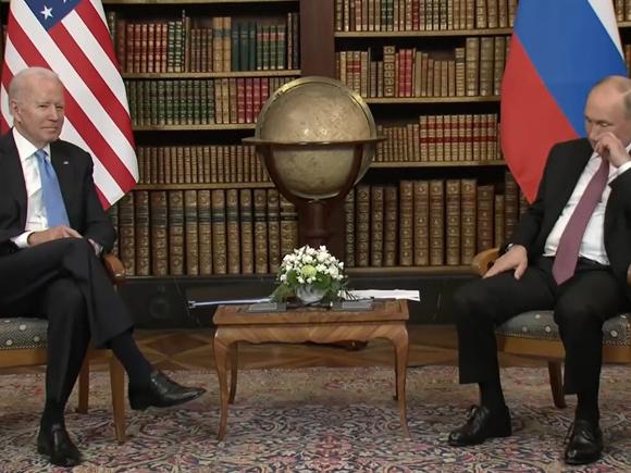 Он полностью в материале и понимает, чего хочет: Путин описал реального Байдена