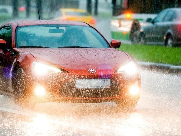 В Москве дождь будет лить до 15 часов