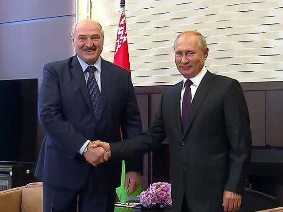 Путин встретится с Лукашенко в Сочи