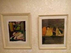 В арт-пространстве mArs открылась выставка Арона Зинштейна «Цветная река жизни»