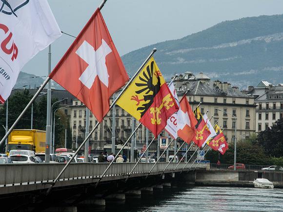 В Женеве в преддверии саммита России и США закрыли два городских парка