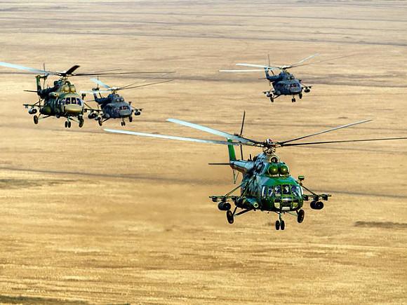 Военный обозреватель: В ЦАР замечены российские военные вертолеты Ми-8 и Ми-24