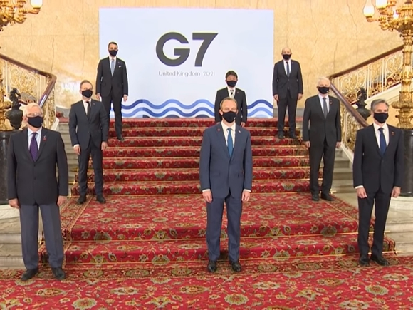 Ключевой темой саммита G7 станет давление на Китай