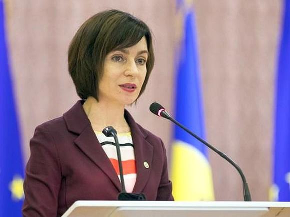 КС Молдавии признал указ президента Майи Санду неконституционным