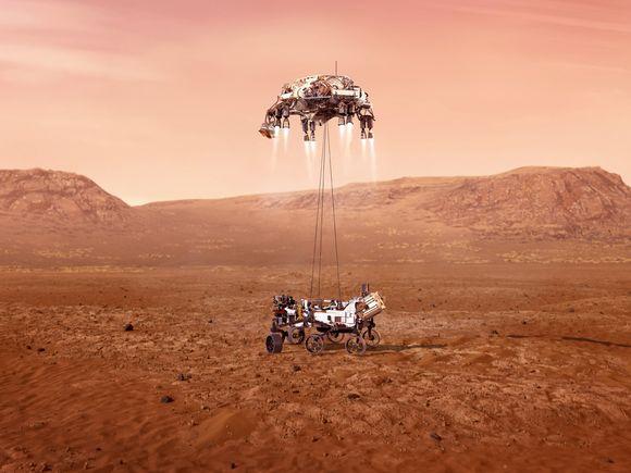 Новости с Марса: вертолет NASA пролетел рекордные 1,6 км и сделал новые фото
